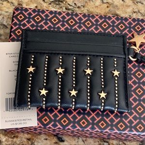 c92658368a8 Tory Burch Bags - NWT Tory Burch Slim Star Stud Card Case  138